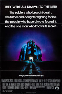 """The Keep & Other Lot (Paramount, 1983). Folded, Very Fine-. One Sheets (2) (27"""" X 41""""). Horror. ... (T..."""