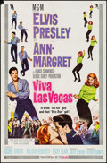 "Movie Posters:Elvis Presley, Viva Las Vegas (MGM, 1964). Folded, Fine/Very Fine. One Sheet (27""X 41""). Elvis Presley.. ..."