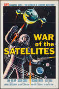"Movie Posters:Science Fiction, War of the Satellites (Allied Artists, 1958). Folded, Fine/VeryFine. One Sheet (27"" X 41""). Science Fiction.. ..."