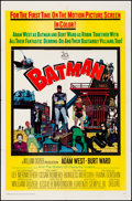 "Movie Posters:Action, Batman (20th Century Fox, 1966). Folded, Very Fine-. One Sheet (27""X 41""). Action.. ..."
