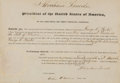 Autographs:U.S. Presidents, Abraham Lincoln: A Fine 1861 Illinois Postmaster's Appointment withStrong Lincoln Signature...