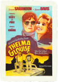 Movie Posters:Drama, Thelma and Louise by Michael Elins (Twinrocker, 1992). Rol...