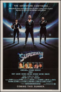 Movie Posters:Action, Superman II (Warner Brothers, 1981). Folded and Flat Folde...