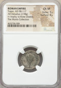 Ancients:Roman Imperial, Ancients: Trajan (AD 98-117). AR denarius (19mm, 2.98 gm, 7h). NGC Choice VF 5/5 - 4/5....