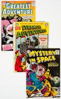 Silver Age (1956-1969):Science Fiction, DC Silver Age Science Fiction Comics Group of 9 (DC, 1950s-60s) Condition: Average VG-.... (Total: 9 Comic Books)