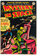 Golden Age (1938-1955):Science Fiction, Mystery in Space #3 (DC, 1951) Condition: FN+....