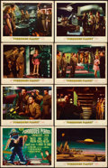 """Movie Posters:Science Fiction, Forbidden Planet (MGM, 1956). Very Fine. Lobby Card Set of 8 (11"""" X 14"""").. ... (Total: 8 Items)"""