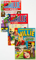 Bronze Age (1970-1979):Humor, Millie the Model Group of 11 (Marvel, 1967-73) Condition: Average VF.... (Total: 11 Items)