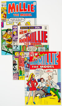 Millie the Model Group of 6 (Marvel, 1968-73) Condition: Average VF/NM.... (Total: 6 Comic Books)
