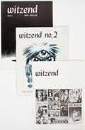 Magazines:Fanzine, Witzend Group of 10 (Wally Wood, 1967-78) Condition: Average VF/NM.... (Total: 10 Comic Books)