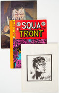 Magazines:Fanzine, Squa Tront/Spa Fon Fanzine Group of 12 (Jerry Weist, 1960s) Condition: Average VF.... (Total: 12 Comic Books)