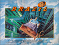 "Movie Posters:Fantasy, Brazil (20th Century Fox, 1985). Folded, Very Fine. 24 Sheet (155""X 118""). Fantasy.. ..."