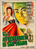 """Movie Posters:Foreign, Cargaison Clandestine (Herald, c. 1950s). Folded, Fine/Very Fine. First Release Italian 4 - Fogli (55"""" X 78""""). Foreign.. ..."""