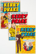 Golden Age (1938-1955):Crime, Kerry Drake Detective Cases Group of 13 (Harvey, 1948-52) Condition: Average VG+.... (Total: 13 Comic Books)