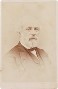 Photography:Cabinet Photos, Robert E. Lee: Extremely Rare Cabinet Card by Gardner....