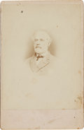 """Photography:Cabinet Photos, Robert E. Lee: """"Floppy-Tie"""" Copy-Image Cabinet Card...."""