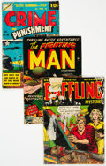 Golden Age (1938-1955):Miscellaneous, Golden Age Comics Group of 6 (Various Publishers, 1940s-50s) Condition: PR.... (Total: 6 Items)