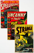 Golden Age (1938-1955):Horror, Golden Age Pre-Code Horror Comics Group of 5 (Various Publishers, 1953) Condition: Average GD-.... (Total: 5 Comic Books)