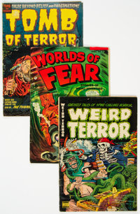 Golden Age Pre-Code Horror Comics Group of 5 (Various Publishers, 1952-53) Condition: Average GD/VG.... (Total: 5 Comic...