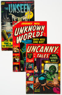 Golden Age Pre-Code Horror Comics Group of 3 (Various Publishers, 1952-53) Condition: Average VG+.... (Total: 3 Comic Bo...