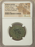 Ancients:Roman Imperial, Ancients: Hadrian (AD 117-138), with Sabina. AE as (27mm, 10.52 gm,7h). NGC VF 4/5 - 2/5....