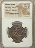 Ancients:Roman Imperial, Ancients: Constantius I, as Caesar (AD 293-305). AE follis (29mm,9.54 gm, 6h). NGC Choice XF 5/5 - 3/5, lt. smoothing....