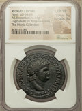 Ancients:Roman Imperial, Ancients: Nero (AD 54-68). AE sestertius (37mm, 24.44 gm, 7h). NGC Choice VF 5/5 - 3/5....