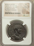 Ancients:Roman Imperial, Ancients: Hadrian (AD 117-138). AE sestertius (34mm, 26.33 gm, 5h). NGC AU 5/5 - 3/5....