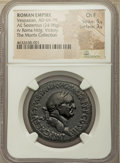 Ancients:Roman Imperial, Ancients: Vespasian (AD 69-79). AE sestertius (32mm, 24.98 gm, 5h).NGC Choice Fine 5/5 - 3/5....
