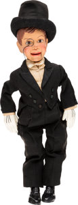 Entertainment Collectibles:TV & Radio, Charlie McCarthy Ventriloquist Dummy Personally Gifted to ...