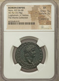 Ancients:Roman Imperial, Ancients: Nero (AD 54-68). AE as (29mm, 10.78 gm, 7h). NGC XF 5/5 - 3/5, smoothing....