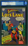 Silver Age (1956-1969):Superhero, Superman's Girlfriend Lois Lane #64 (DC, 1966) CGC NM- 9.2Off-white pages.