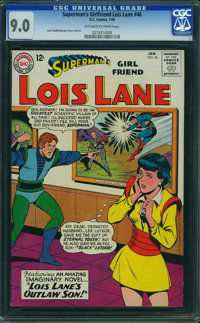 Superman's Girlfriend Lois Lane #46 (DC, 1964) CGC VF/NM 9.0 Off-white to white pages