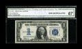 Small Size:Silver Certificates, Fr. 1606* $1 1934 Silver Certificate. CGA Gem Uncirculated 67.. ...