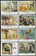"Movie Posters:Animated, The Jungle Book (Buena Vista, R-1984). Lobby Card Set of 8 (11"" X14""). Animated.... (Total: 8 Items)"