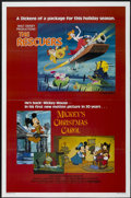 "Movie Posters:Animated, The Rescuers/Mickey's Christmas Carol Combo (Buena Vista, 1983). One Sheet (27"" X 41""). Animated...."