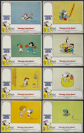 "Movie Posters:Animated, Snoopy, Come Home! (National General, 1972). Lobby Card Set of 8 (11"" X 14""). Animated.... (Total: 8 Items)"
