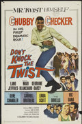"Movie Posters:Rock and Roll, Don't Knock the Twist (Columbia, 1962). One Sheet (27"" X 41""). Rockand Roll...."