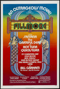 "Movie Posters:Rock and Roll, Fillmore (20th Century Fox, 1972). One Sheet (27"" X 41""). Rock andRoll...."