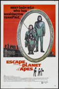 """Movie Posters:Science Fiction, Escape from the Planet of the Apes (20th Century Fox, 1971). OneSheet (27"""" X 41""""). Science Fiction...."""