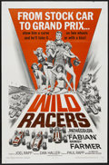 "Movie Posters:Sports, The Wild Racers (American International, 1968). One Sheet (27"" X 41""). Sports...."
