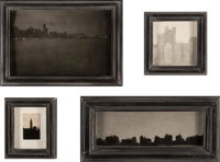 Jefferson Hayman (American, b. 1969) A Group of Four Cityscapes (four works) Gelatin silver 4-1/2