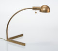 Lighting, Cedric Hartman (American, born 1929). Table Lamp, 1960s. Brass. 14-3/4 x 14 x 16 inches (37.5 x 35.6 x 40.6 cm). Incised...