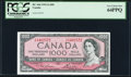 Canadian Currency, BC-44d $1000 1954 (ND 1973) PCGS Very Choice New 64PPQ.. ...