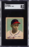 Baseball Cards:Singles (1940-1949), 1949 Bowman Satchell Paige #224 SGC NM/MT 8 - Only Two Higher....