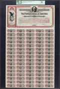 $20 Spanish-American War 3% Coupon Bond of 1898 Hessler X188G PMG Extremely Fine 40