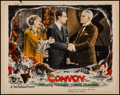 Movie Posters:Drama, Convoy (First National, 1927). Very Fine-. Lobby C...