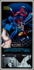 "Movie Posters:Science Fiction, Tron (Buena Vista, 1982). Folded, Very Fine+. Australian Daybill(13.25"" X 26.75""). Science Fiction.. ..."