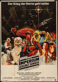 """Movie Posters:Science Fiction, The Empire Strikes Back (20th Century Fox, 1980). Folded, Fine+.German A0 (33"""" X 46""""). Science Fiction.. ..."""