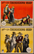 Movie Posters:Western, The Thundering Herd (Paramount, 1925). Very Fine-....
